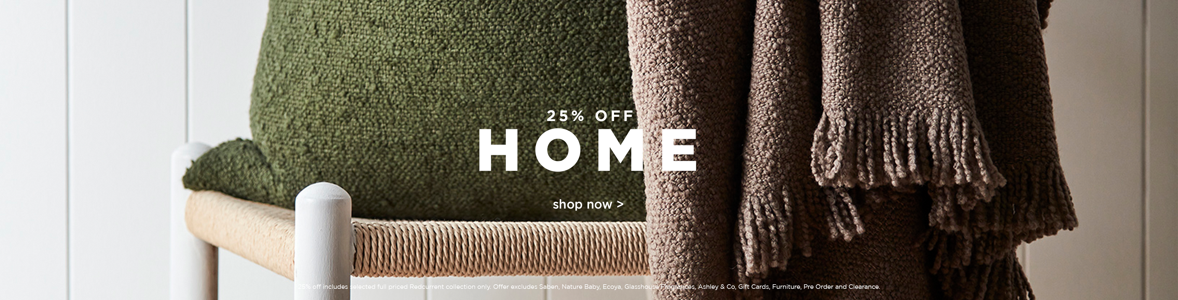 25% Off Home