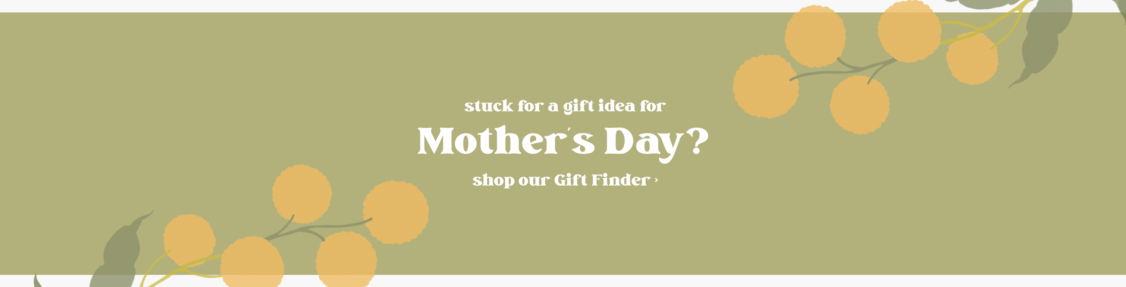 Gift Finder Mothers Day