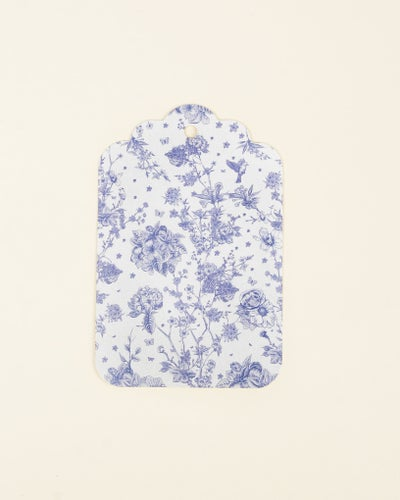 Redcurrent Blue Floral Gift Tag