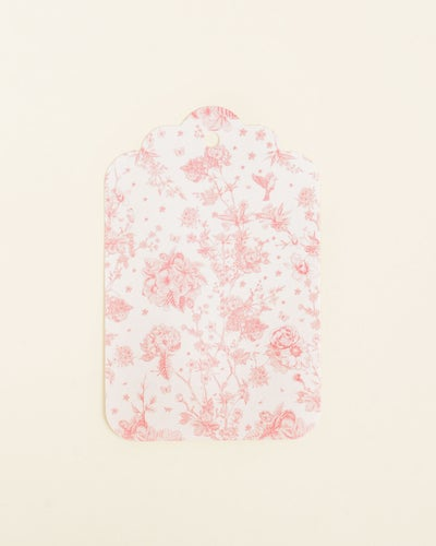 Redcurrent Pink Floral Gift Tag