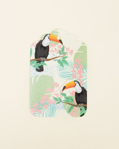 Redcurrent Toucan Gift Tag